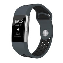 Carbon Fitness Activity Tracker with Heart Rate and Sleep Monitor Grey/B... - $60.66