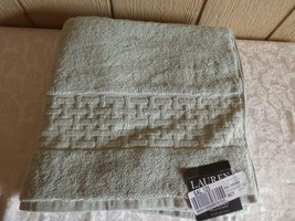 """$34.00 Lauren Ralph Lauren Pierce Bath Towel 30"""" x 56"""", Stone Gray - $10.15"""
