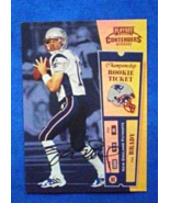 2000 Playoff Contenders Rookie Ticket Auto #144 Tom Brady [N.E. Patriots... - $5.00