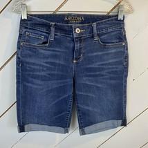 Arizona Women's Denim Bermuda Shorts Size 5 - $11.88