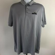Nike Golf Men's Polo Size XL Gray TM22 - $10.39
