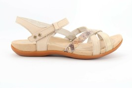 Abeo Laguna Stone Sandals Women's Size US 8.5 Neutral Footbed (EP)4166 - $68.00