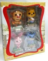 Hot Toys Cosbaby Disney Winnie the Pooh Tigger Piget Eeyore Collectible Set - $112.19