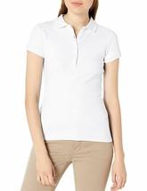 IZOD Junior's Uniform Short Sleeve Interlock Polo Large - $12.61