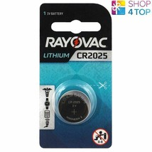 Rayovac CR2025 Lithium Batteries 3V Cell Coin Button Exp 2026 Indonesia New - $2.04