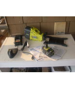 RYOBI P750 18 VOLT TRANSFER PUMP WITH 4AH LI-ION BATTERY AND CHARGER. USED. - $132.53