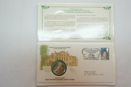 1980 Queen Elizabeth First Day Cover Commemorative Medal - $15.00