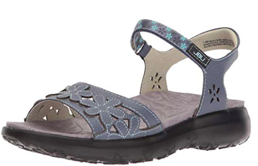 Primary image for JBU by Jambu Women's Wildflower Sandal, Denim Blue, 8.5 M US