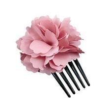 Fashion Pink Peony Coiled Up Hair Hair Accessories/Hair Pins