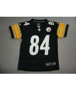 Black Pittsburgh Steelers #84 Antonio Brown Nike NFL Screen Jersey Youth S - $22.28