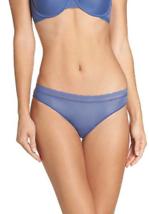 On Gossamer BLUE Next To Nothing Bikini Panty, Size Large, NWOT - $11.88