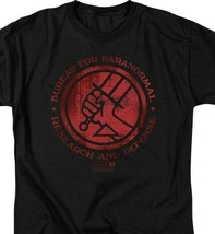 Hellboy II Golden Army T Shirt Bureau for Paranormal Research and Defense UNI133 image 2