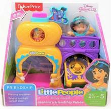 Little People Disney Princess Jasmine Friendship Palace Playset Figure Toy - $20.64