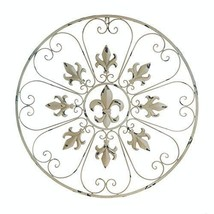 Accent Plus Wall Decor Iron, Vintage Metal Decorative Wall Art Bedroom Decor - $34.99