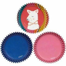 Desert Llama 75 Ct Baking Cups Cupcake Liners Wilton - $3.46