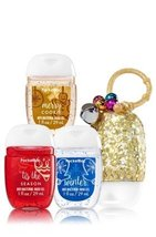 Bath & Body Works Hand Gels set of 3 merry cookie,tis the season, winter... - $8.90