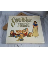 Walt Disney's Snow White and the Seven Dwarves 1979 Hardcover Illustrated - $29.69