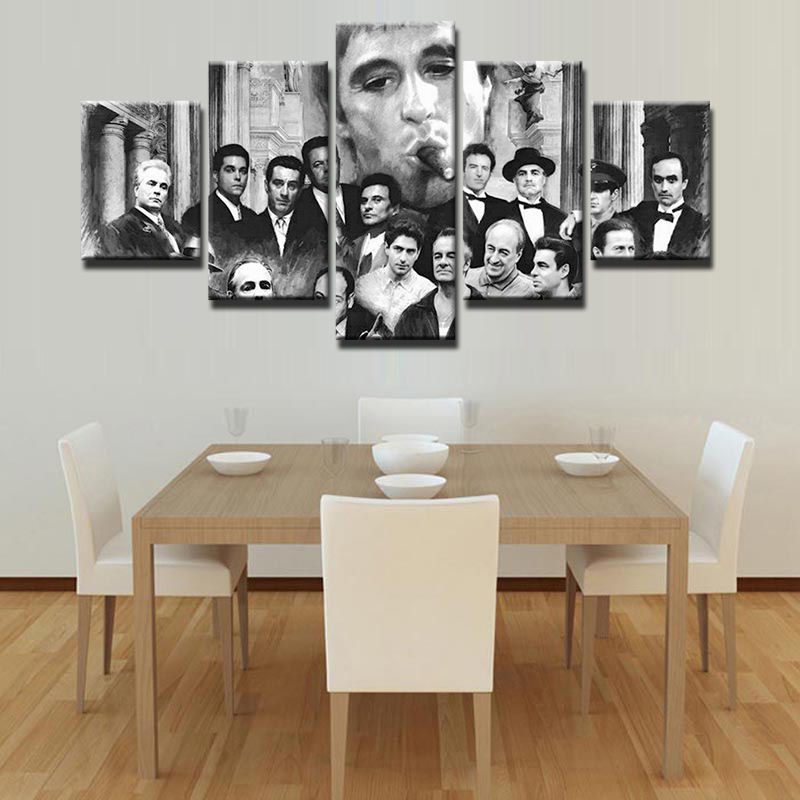 Gangsters Scarface Canvas Print 5 Piece and 50 similar items
