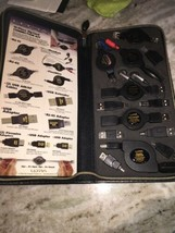 ULTRA 13 Piece Zip Cord Cable Connection Kit In Factory Black Case - $35.45