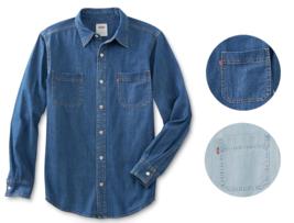 Levi's Men's Classic Long Sleeve Button Up Casual Denim Dress Shirt 3LMLW0983