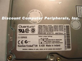 8.4GB 3.5 IDE LP FIREBALL CR CR84A QUANTUM QM308400CR-A Free USA Ship Our Drives