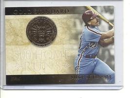 (B-3) 2012 Topps Gold Standard #GS-6: Mike Schmidt - $2.00