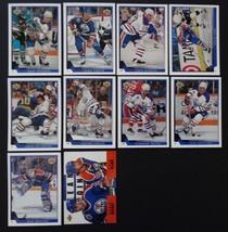 1993-94 Upper Deck Series 1 Edmonton Oilers Team Set 10 Hockey Cards No #197 - $3.00