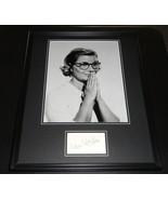 Barbara Bel Geddes Signed Framed 16x20 Photo Display Dallas Vertigo - $197.99