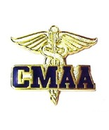 CMAA Pin Certified Medical Administrative Assistant Medical Caduceus Win... - $16.46