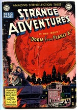STRANGE ADVENTURES #2 1950 DC Science Fiction-Kirby-Virgil Finlay - $272.81