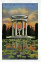 American Legion Memorial Fountain Daytona Beach Florida - $1.99