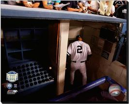 Derek Jeter Final Game at Old Yankee Stadium 2008-16x20 Photo on Stretched Canva - $94.95