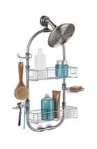 mDesign Bathroom Shower Caddy for Shampoo, Conditioner, Soap, Razor - La... - $60.06 CAD