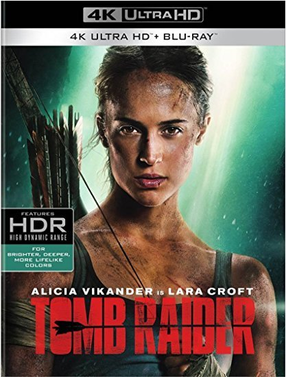 Tomb Raider (4K Ultra HD+Blu-ray, 2018)