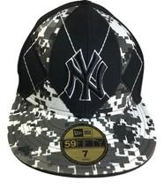 New Era Cap Fitted 59Fifty MLB New York Yankees Digital Camo 5950 Hat - $19.79