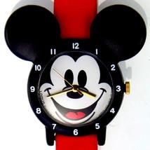 Mickey Mouse, Red Band, Black Ears Lady Seiko Lorus Disney Unworn Watch ... - $58.26