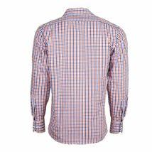 Berlioni Italy Men's & Boys Premium Yarn Dyed Luxe Cotton Dress Shirt Modern Fit image 7