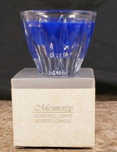 Avon Romantic Lights Mesmerize Scented Candle Reusable Crystal Holder 1994 - $14.53