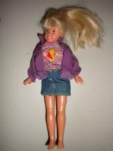 "Mattel Barbie Stacie Little Sister of Barbie 8"" Blonde Blue Eye Doll Dressed - $11.88"