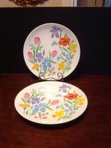 "Heinrich H&C Selb Primavera 10"" Dinner Plate Lot Of 2 Gentle Used - $29.95"