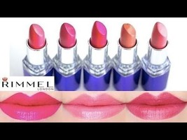 Rimmel London Moisture Renew Moisturizing Lipstick with Vitamin A, C , E 4g - $10.67