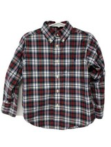 Ralph Lauren boys kids shirt plaid button front long sleeve size 4 - $14.84