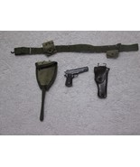 Captain America Star Spangled Pistol, Holster, Shovel MMS 205 - Hot Toys - $36.77