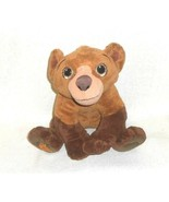 Disney Brother Bear Koda Talking Stuffed Animal Plush Toy Working 11 inch  - $14.84