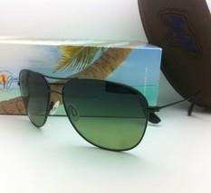 New MAUI JIM Sunglasses CLIFF HOUSE MJ 247-02  Black w/ Maui HT Gradient Lenses