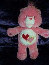 """Care Bears Interactive Singing Love-A-Lot Bear w/ Magnetic Hand 2004 PINK 15"""" - $19.79"""