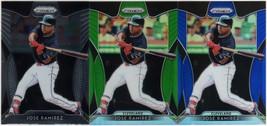 (3) 2019 Panini Prizm #21 Jose Ramirez/Parallel Baseball Cards - $5.00