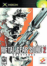 Metal Gear Solid 2: Substance (Microsoft Xbox, 2002) - Complete - Tested - $7.99