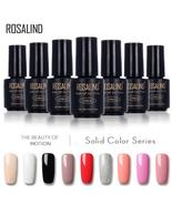 ROSALIND 7ML gel lacquer 58 Pure Colors Varnish Nail Art Vernis UV LED S... - $1.99