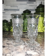 VTG Anchor Hocking Wexford Water/Wine Goblets  - $30.00